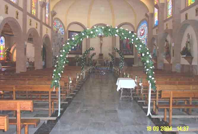 Preparando la iglesia