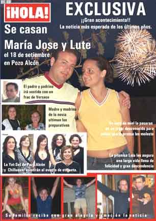 Boda de Maria Jose ¡¡la revista!!